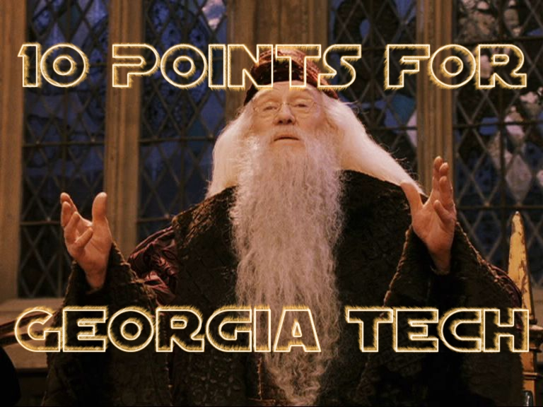 10 Points for Georgia Tech