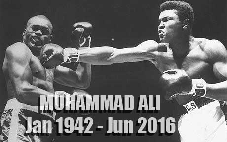 Muhammad Ali Tribute: Jan 1942 - Jun 2016